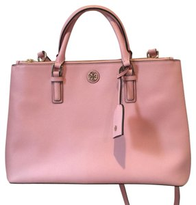 Tory Burch Satchel in baby pink