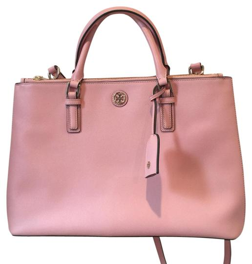 Preload https://img-static.tradesy.com/item/21078295/tory-burch-baby-pink-leather-satchel-0-1-540-540.jpg