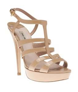Miu Miu Patent Leather Pink Sandals