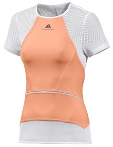 adidas By Stella McCartney Adidas Women's Stella McCartney Fitness Barricade Cap sleeve Size M