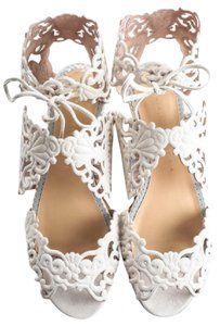 Charlotte Olympia ivory Sandals