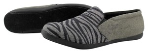 Coconuts by Matisse Pony Hair Moccasin Grey Flats