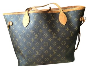 Louis Vuitton Neverfull Shoulder Bag
