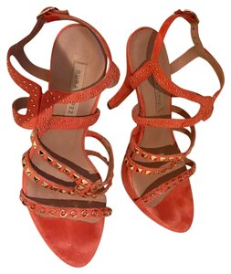 Pura Lopez Peach Sandals