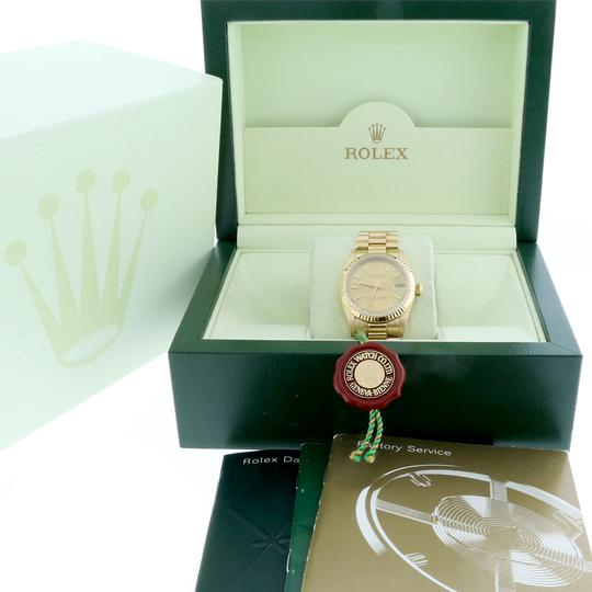 Rolex Rolex President Datejust Midsize Gold Champagne Dial 31mm 68278 Image 2