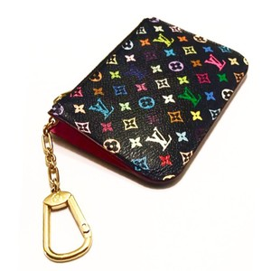 Louis Vuitton Multicolore Monogram Noir Cles with Grenade Interior