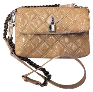 Marc Jacobs Patent Leather Quilted Cross Body Bag