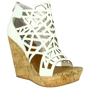 Not Rated Ego Synthetic white Wedges