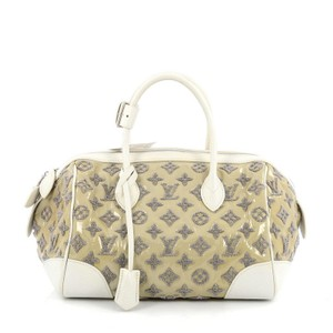 Louis Vuitton Leather Satchel in Tricolor