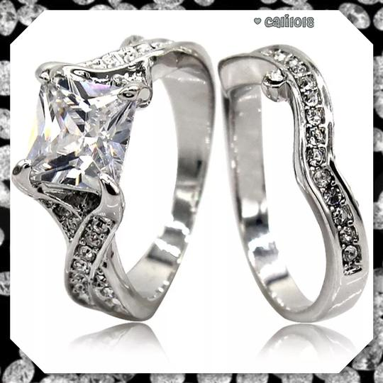 Other New Size 4 2pc Wedding Ring Set Image 3