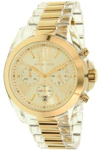 Michael Kors New MICHAEL KORS MK6319 Womens Bradshaw Champagne Dial Chrono Watch