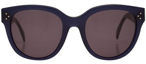 Céline NEW Celine 41755/S Audrey Navy Blue Oversized Sunglasses