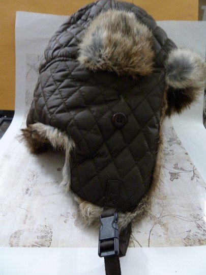 Surell SURELL Hat with Real Rabbit Fur NEW Image 2