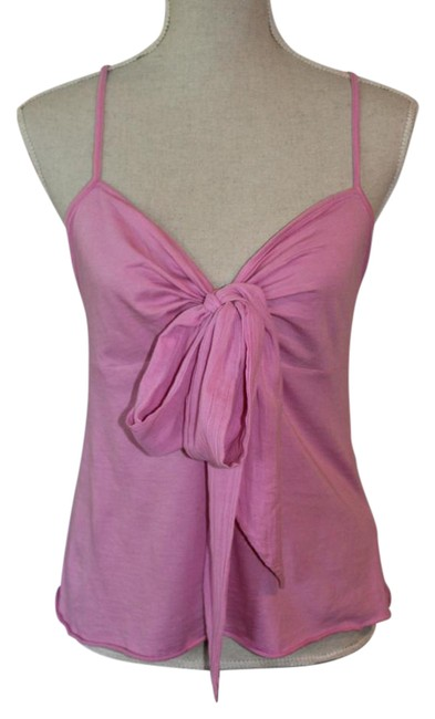 Item - Bubblegum Pink Cami with Huge Bow Tee Shirt Size 8 (M)