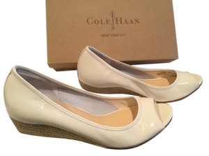 Cole Haan Brand New Ivory Wedges