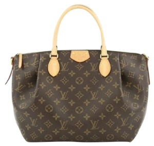Louis Vuitton Turenne Canvas Tote in Brown