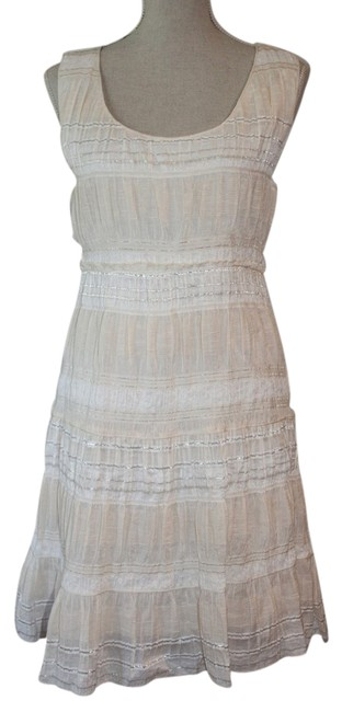Preload https://img-static.tradesy.com/item/21079252/chelsea-and-violet-pink-white-and-silver-short-casual-dress-size-10-m-0-1-650-650.jpg