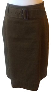 Banana Republic Skirt dark olive khaki
