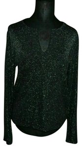 Old Navy Sparkly Dressy Girly Party Top black