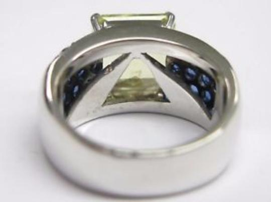 Other Fine Green Tourmaline Gem Sapphire Jewelry Ring 7.56CT Image 1