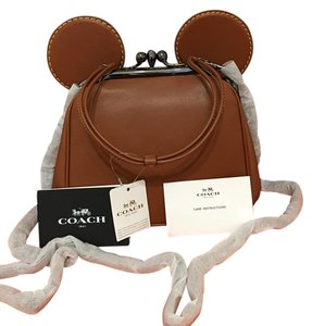 Coach Leather Limited Edition Shoulder Bag