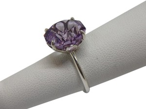 Tiffany & Co. STERLING SILVER SPARKLERS Lavender Amethyst Ring