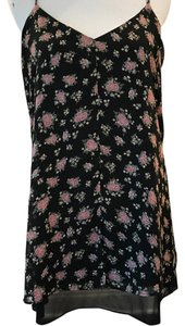 Forever 21 short dress Black floral on Tradesy