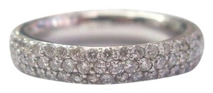 Other 18Kt 3-Row Diamond Anniversary Band Ring 2.00Ct