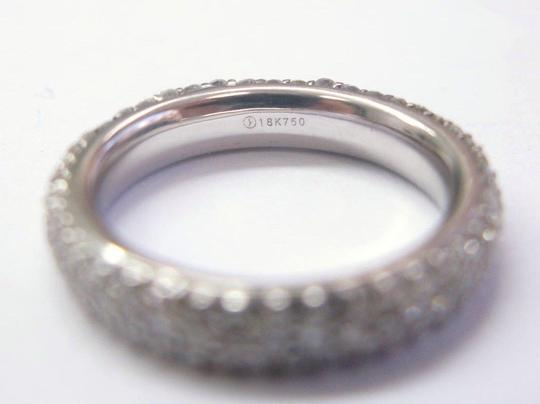 Other 18Kt 3-Row Diamond Anniversary Band Ring 2.00Ct Image 1