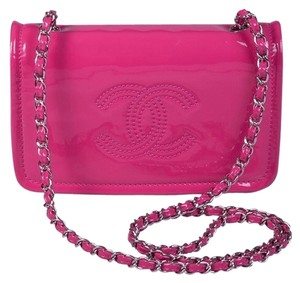 Chanel Flap Neon Cross Body Bag