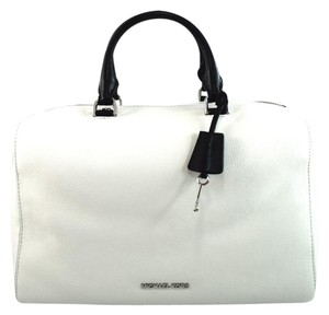 Michael Kors Satchel in White and Black