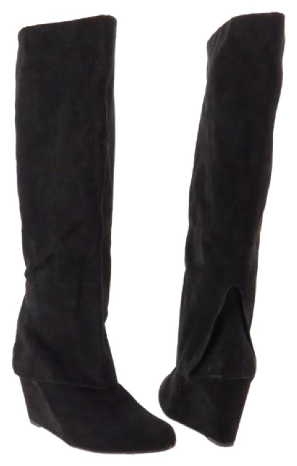 Jessica Simpson Black *new Toe Rallie Round Toe *new Suede Knee High Boots/Booties a97df5
