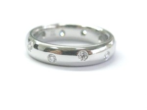 Tiffany & Co. Tiffany & Co Etoile Platinum Diamond Ring Size 5 .22Ct