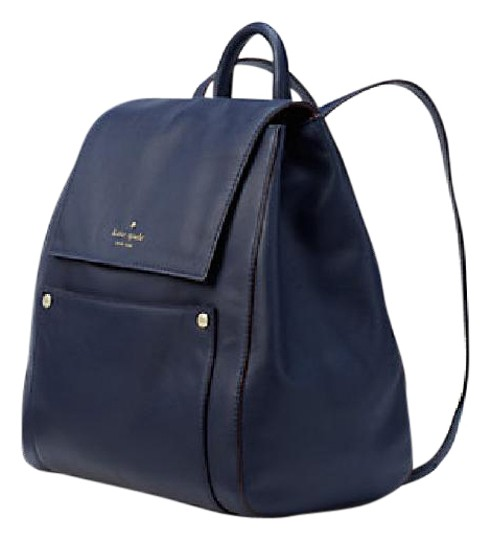 Preload https://img-static.tradesy.com/item/21079864/kate-spade-new-hamilton-st-cody-off-shore-blue-leather-backpack-0-1-540-540.jpg