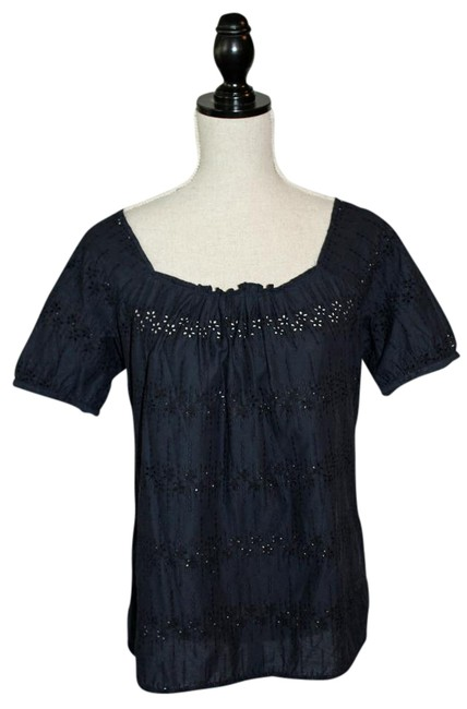 Preload https://img-static.tradesy.com/item/21079878/jcrew-navy-eyelet-vintage-closet-blouse-size-6-s-0-4-650-650.jpg