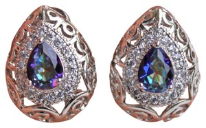 Other New Mystic Rainbow 18k Gold Filled Earrings