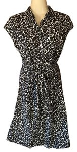 Tommy Hilfiger short dress black and white Summer Shirt Floral on Tradesy