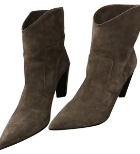 Fendi Suede Taupe Boots