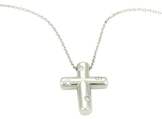 Preload https://img-static.tradesy.com/item/21080226/tiffany-and-co-platinum-etoile-diamond-cross-pendant-necklace-0-1-540-540.jpg