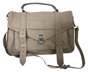 Proenza Schouler Proenza Leather Ps1 Satchel in Nude