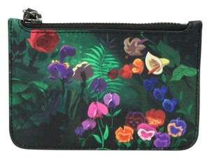 Marc by Marc Jacobs Leather Wristlet in black/multi