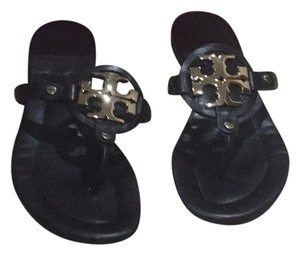 Tory Burch Black / Bronze Sandals