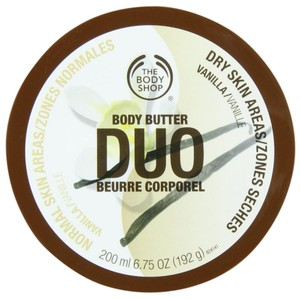 The Body Shop The Body Shop Vanilla Body Butter Duo 200ml/6.75oz ~NEW Sealed