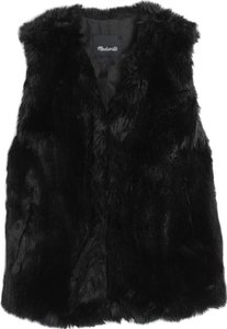 Madewell Faux Fur Chic Vest