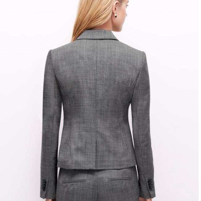 Ann Taylor One button down blazer with grey pants Image 1