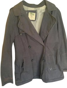 American Eagle Outfitters Spring Coat Blue Jacket
