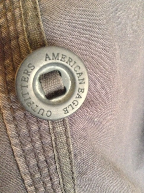 American Eagle Outfitters Spring Coat Made In Usa Blue Jacket