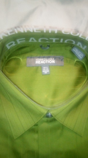 Kenneth Cole Reaction Cotton Spring T Shirt green Image 3
