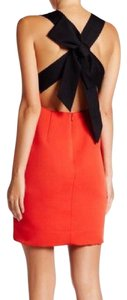 Kate Spade Bow Back Dress short dress red and black on Tradesy