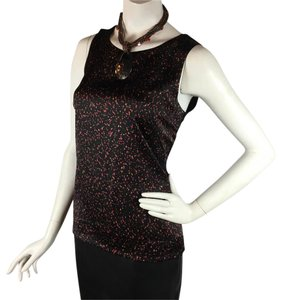 Ann Taylor Top Black and orange